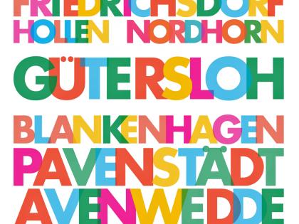 Poster Ortsteile_Plakat-Guetersloh_Stadtteil
