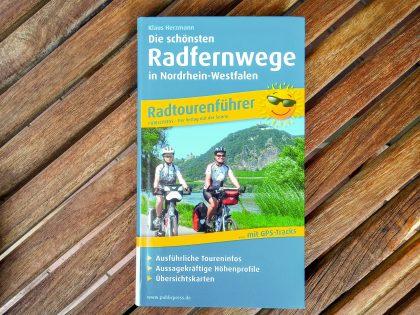 Radkarte_Die schönsten Radfernwege in NRW_Radtourenführer