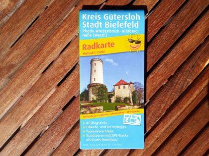 Radkarte_Kreis Gütersloh Stadt Bielefeld