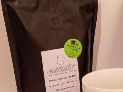 Gütersloher Spezial-Kaffeesorten und Kaffeetasse