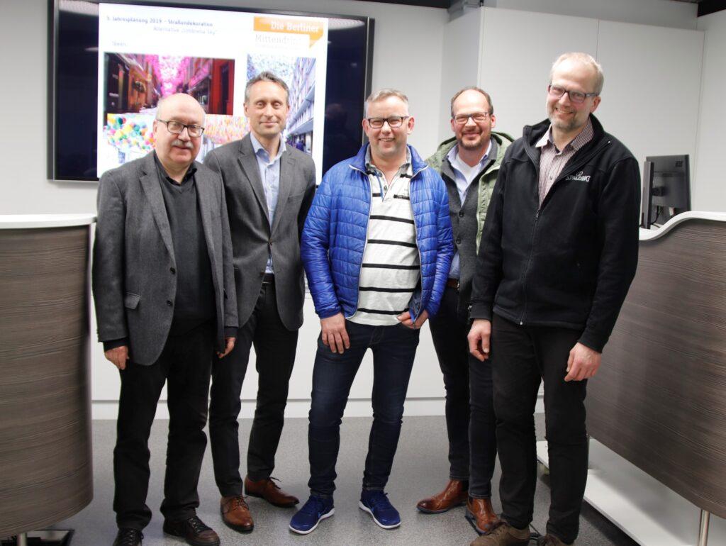 5 Vorstandsmitglieder der ISG Gütersloh